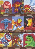 Iron Man Cards 1 by JeffVictor