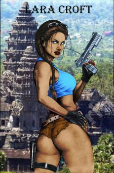 Young Lara Croft by PrinceofUkraine