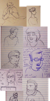 Sketch Dump: Coworkers by NoahRodenbeek