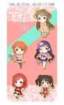 SIF Love Live Charms by MlKO