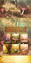 Autumn Fairytales Backgrounds by cosmosue