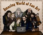 The Hobbit: Amazing World of Fan Art by wolfanita