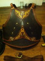 Foxy Leather Cuirass by SavagePunkStudio