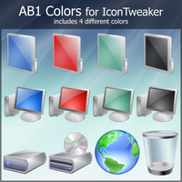 AB1 Colors for IconTweaker by anthonium