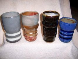Collection of cups by iheartart06