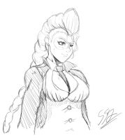 C.Viper -Sketch- by ss2sonic
