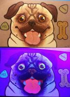 Biscuits for Pug by Savvy-Cat
