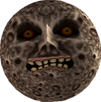 Majora's Mask Moon by mrespman