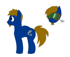Liam is a pony by Rayne-Is-Butts