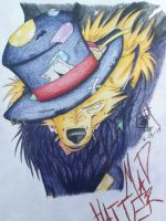 Mad Hatter as a Wolf XD by PheonixAurora