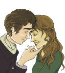 Mr. and Mrs. Darcy by twirkle