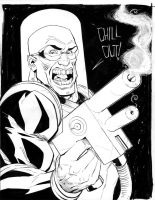 Arnold Mr. Freeze by J-WRIG