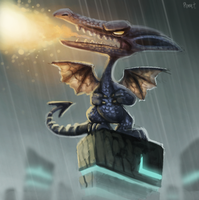DAY 186. Ridley (30 Minutes) by Cryptid-Creations