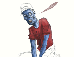 another zombie by severusgraves