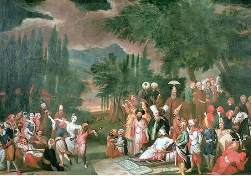 Ahmed III We Hunting Party 1717 by eduartinehistorise