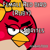 Female Red (Ruby) Sprites by TBalazs2000