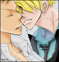 SanZo coloring, Lover Boys by AnnaHiwatari