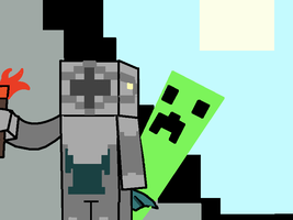 Knight Minecraft by DeinoLover4ever