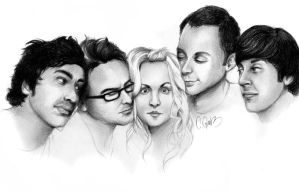 the big bang theory. by funkstoerung