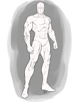 Superhero Pose Male Standing Angle by robertmarzullo