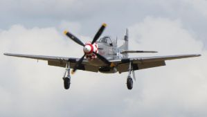 p51d mustang Marinell coming back in by Sceptre63
