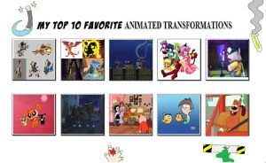 My Top 10 Favorite Transformations by Toongirl18
