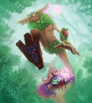 Ivern and Lulu - The perfect gank by konutko