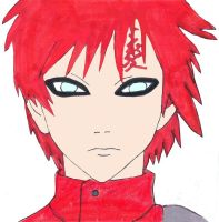 Gaara by fifthknown