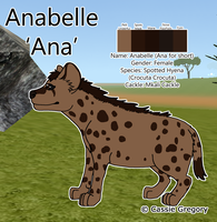 Ana Reference Sheet by The-Smile-Giver