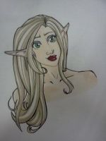 Pretty Elf by iHeartMagster