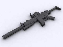 RA2:AR MP5 by Richbk