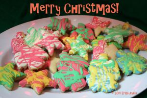 Merry Christmas Cookies by Sombraluz-Images