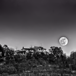 That Moon BW by ifsantag