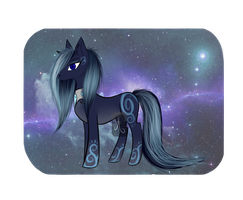 -Night pony adopt O P E N- by Alpacalyptic
