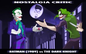 NC- Batman vs The Dark Knight by MaroBot