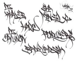 handstyle by MrHavok