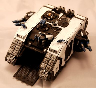 Space Marine Land Raider by TheGamingBlacksmith