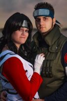 Asuma and Kurenai by key0fdestiny13