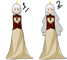 Candle Princess: revamp by Ask-the-CandleTwins