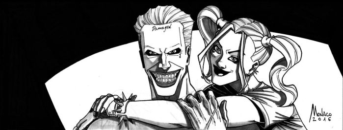 Harley and Mr. J - Facebook Cover by AleMonaco