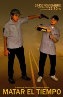 Cadete y Comisario (Police cadet and Commissioner) by leonelmail