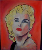 Marilyn Monroe by RomanianGuy