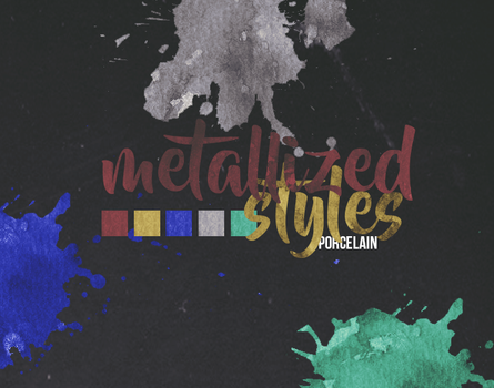 Metallized Styles | ASL | By Porcelain by ItsPorcelain