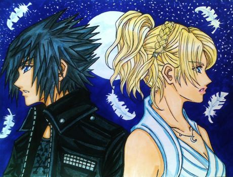 Noctis x Luna: Stand by me by dagga19