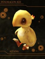 My Baby Chocobo by teamsugoi1