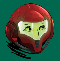 Samus Icon by quadren4