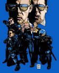 HOT FUZZ homage by MalevolentNate