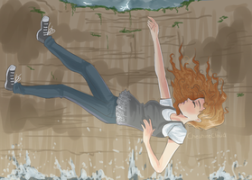 Falling by CheshireCloud