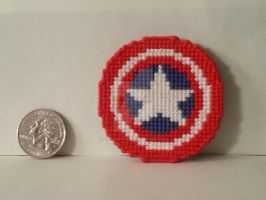 Captain America Shield by NerdyCatCrafts