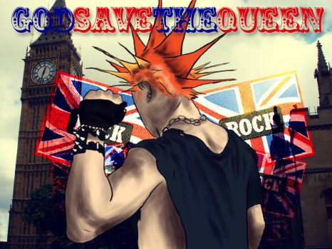 god.save.the.queen by psycolicious